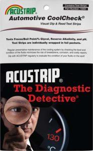 Accustrip Fleetguard Coolant Analysis Test Kit CC2602A