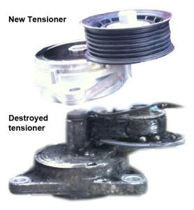 serpentine belt, belt tensioner, belt dressing, install serpentine belt