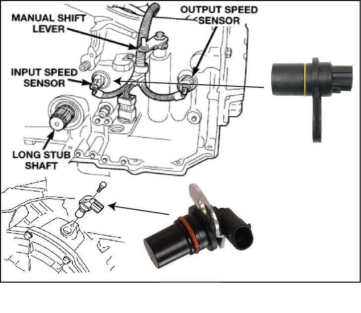 P0717 Input Turbine Speed Sensor Circuit No Signal