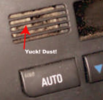BMW interior temp sensor