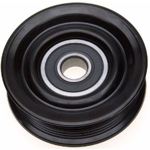idler pulley, grooved idler pulley, idler pulley for 4.6L and 5.4L Ford engine