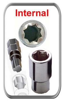 replacement wheel lock key for internal wheel lock