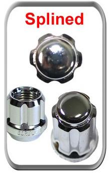 replacement wheel lock key for spline wheel lock