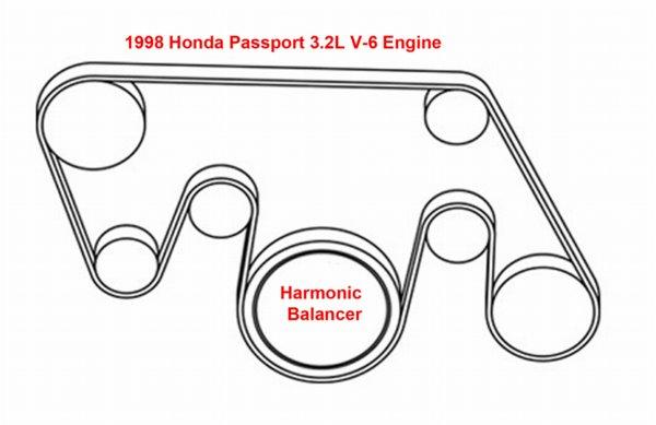 Honda Passport 3 2l V 6 Serpentine Belt Diagram Ricks Free Auto Repair Advice Ricks Free Auto Repair Advice Automotive Repair Tips And How To