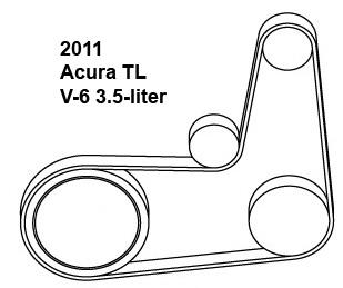 Acura Tl Drive Belt Diagram