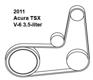 Dayco Serpentine Belt Diagrams: Acura Csx Wiring Diagram At Freeautoresponder.co