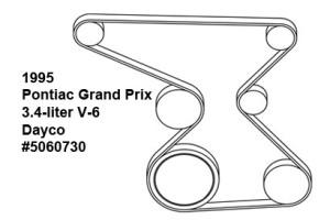Pontiac Grand Prix, belt diagram, fan belt diagram, Acura belt diagram, serpentine belt diagram, free diagram