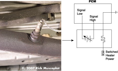 oxygen sensor, P0130