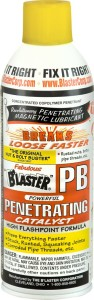 WD-40, penetrating oil, rust penetrant, PB Blaster