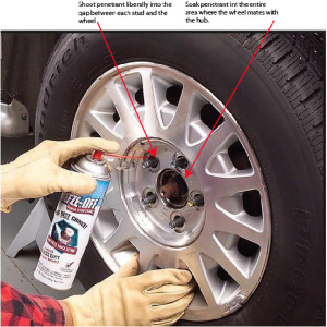 stuck wheel, wheel stuck on car, how to remove stuck wheel