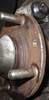 steering wheel vibrates, brake pedal vibrates