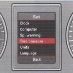 tire pressure sensor reset