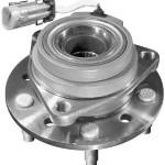 wheel bearing and hub