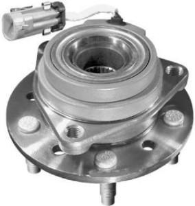 Integral hub and wheel bearing assembly
