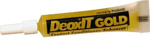Detoxit contact conditioner to stop corrosion and fretting on electrical contacts