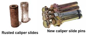 caliper slide pins