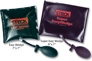steck inflatable door wedge