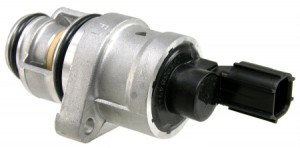 A carboned up idle air bypass valve can cause a high idle
