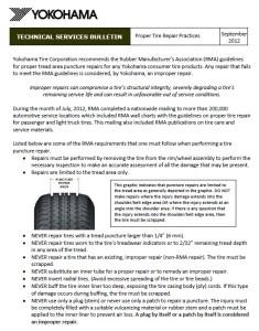road hazard warranty, tire warranty
