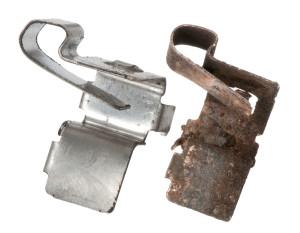 brake pad anti rattle clips