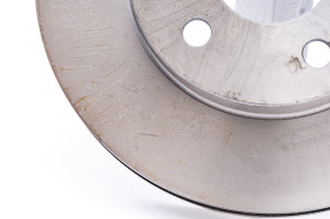 clean brake rotor