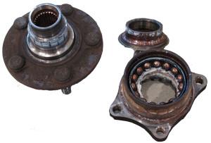 replace a worn or damaged wheel bearing