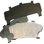 new brake pad shims