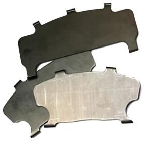 new brake pad shims