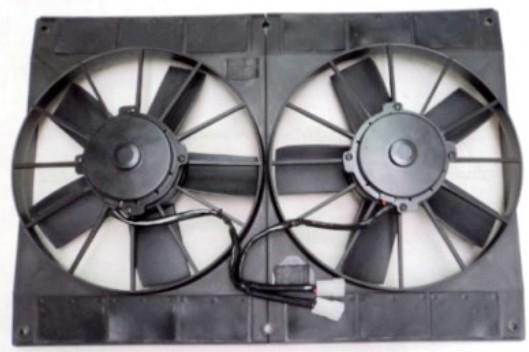 radiator fans to cool car radiator