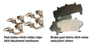brake hardware