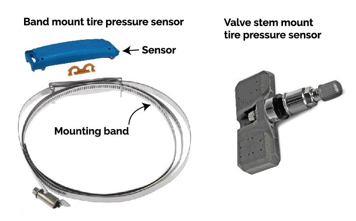 tire pressure sensor styles