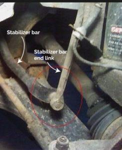 stabilizer bar end links