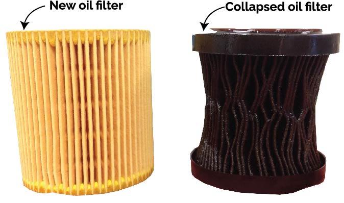 oil filter, oil change