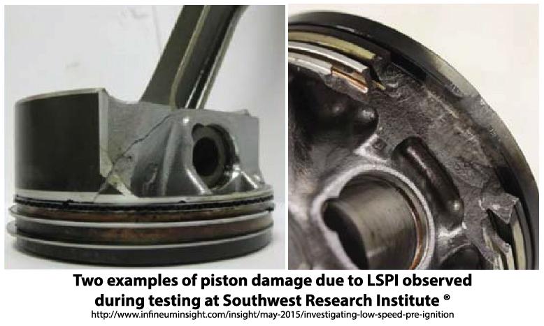 LSPI engine damage