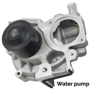 water pump and timing belt