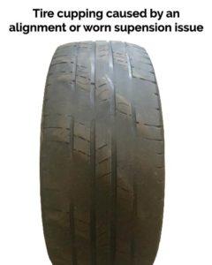 diagonal tire cuppling
