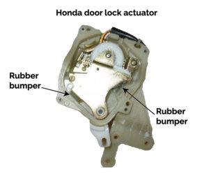 Honda door lock actuator