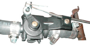 heater control valve for heater core