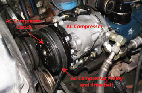 Car AC compressor clutch — Ricks Free Auto Repair Advice