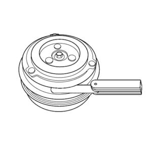 compressor clutch air gap