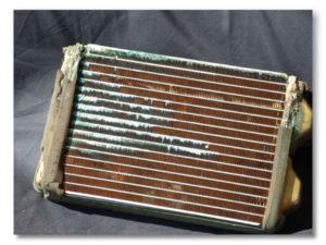 leaking heater core