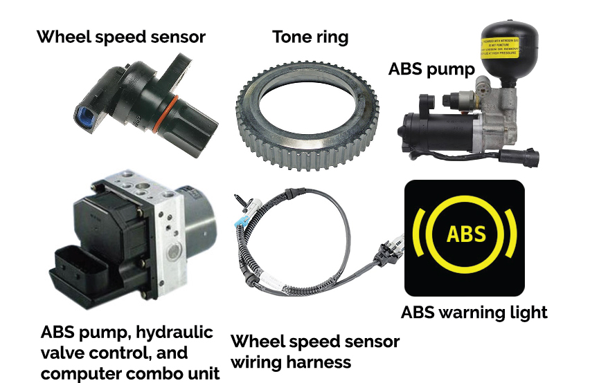 ABS brakes and ABS system componets