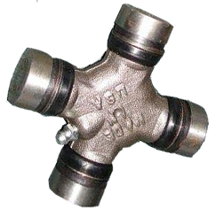 image of U joint with grease fitting in the cross