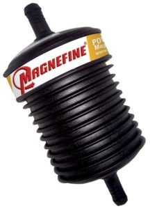 power steering line filter removes metallic particles and prevents new pump and rack and pinion failure
