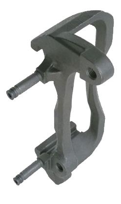 brake caliper bracket with slide pins