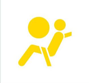 vw warning icon airbag