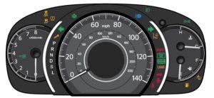 Honda dashboard wanring lights