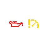 vw warning icons low oil pressure light