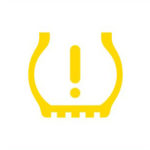vw warning icons low tire pressure