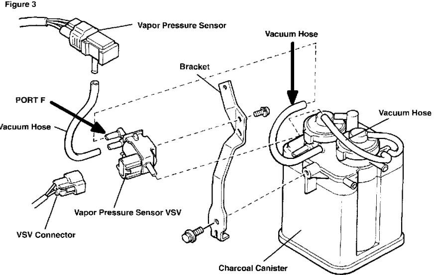 evap VSV Camry P0440, P0441, P0446